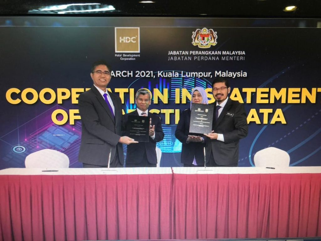 Malaysia: MOU signing between Department of Statistics Malaysia and HDC